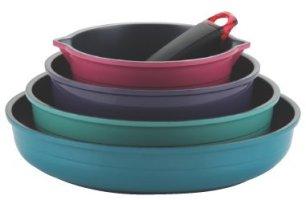 frybest Жаровка Ecolon Посуда с керамическим покрытием Эколон наборы со съёмной ручкой купить с бесплатной доставкой  подробное описание цены